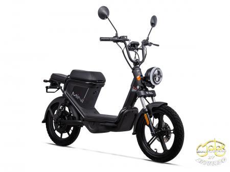 Keeway E-Zi Mini elektromos robogó fekete 2021 Modell 1