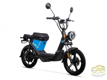 Keeway E-Zi Mini elektromos robogó kék 2021 Modell 2