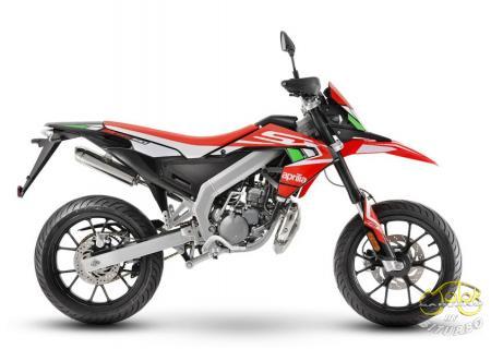Aprilia SX 50 Factory piros 2020. 2