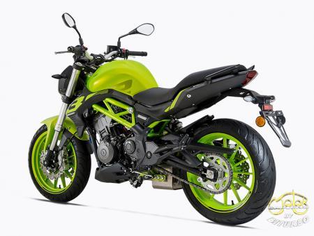 Benelli 302S zöld sportmotor 11