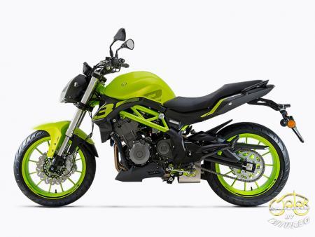 Benelli 302S zöld sportmotor 14