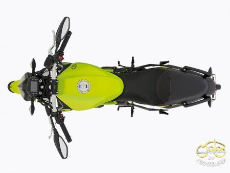 Benelli 302S zöld sportmotor 8