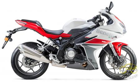Benelli BN 302R sportmotor fehér
