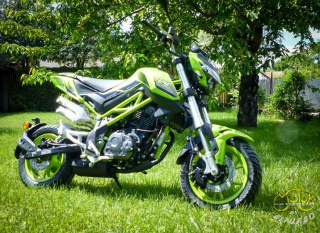 Benelli TNT 125 Lime 2020 1