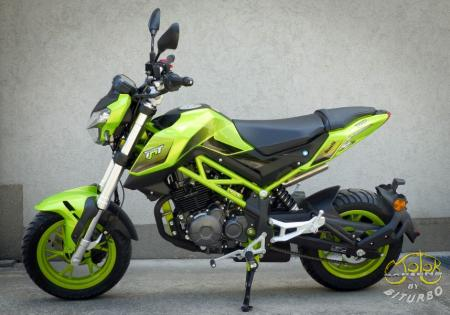Benelli TNT 125 Lime 2020 2