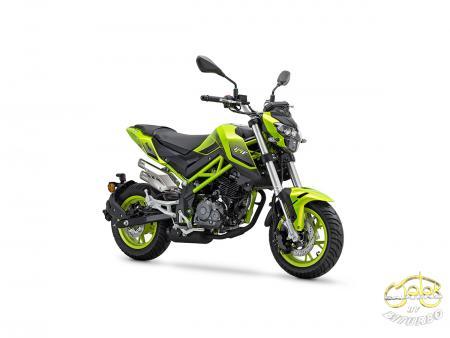 Benelli TNT 125 2021 modell lime zöld 1