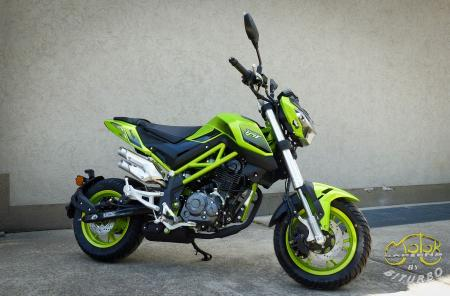 Benelli TNT 125 Lime 2020 5