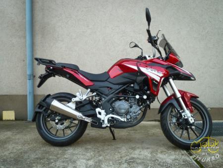 Benelli Trk 251 piros 1