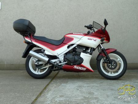 Kawasaki GPZ 500 S sportmotor 4