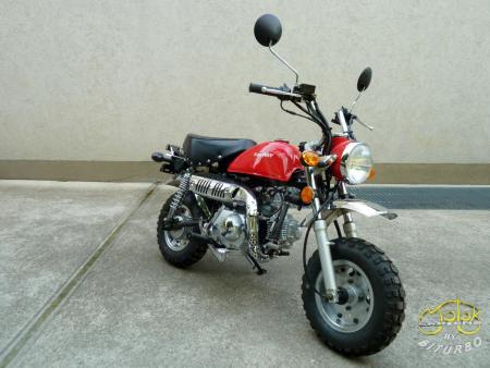 Keeway Monkey 50 motor 10