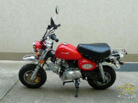 Keeway Monkey 50 motor 7