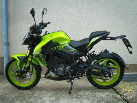 Keeway Rkf 125 full green  5
