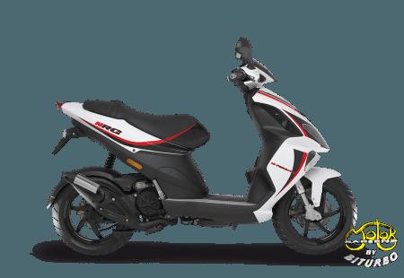 Piaggio NRG Power 50 fehér-piros robogó
