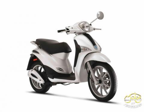 Piaggio Liberty 50 4t robogó fehér 3