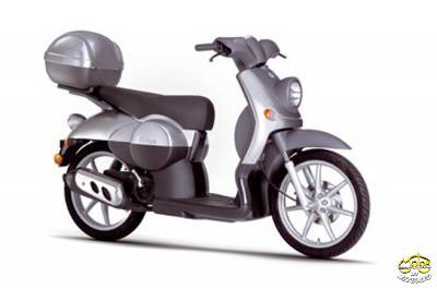 Benelli Pepe LX 50 robogó ezüst