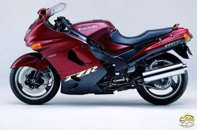 Kawasaki ZZR 400 motor