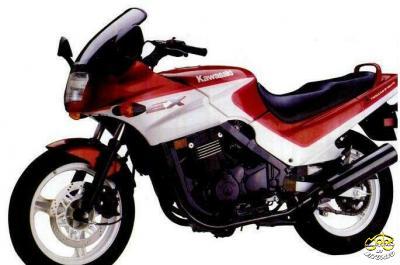Kawasaki GPZ 500 S sportmotor
