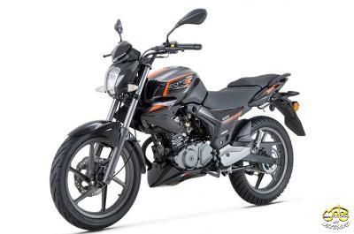 Keeway RKS Sport 125 motor fekete