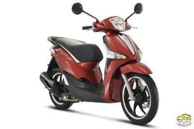 Piaggio Liberty 125 3V ABS S E4 piros