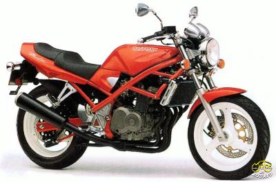Suzuki GFS 400 Bandit túramotor