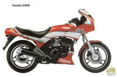Yamaha XJ 600 túra sport motor