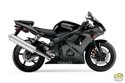 Yamaha YZF-R6 sportmotor  2005
