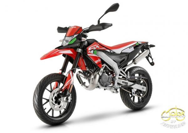 Aprilia SX 50 Factory piros 2020. 1
