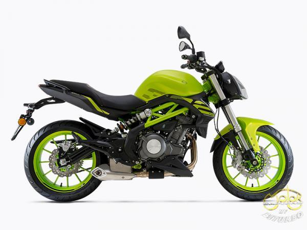 Benelli 302S zöld sportmotor 15