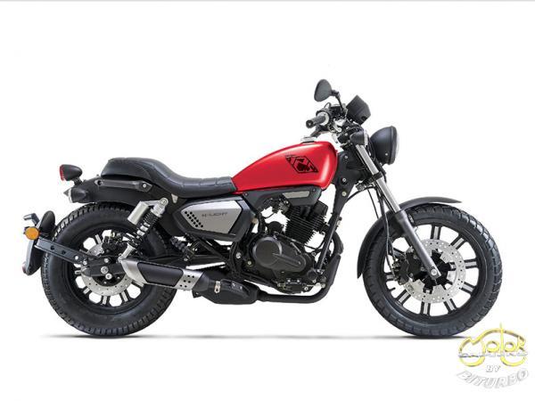 Keeway K-Light 125 motor piros