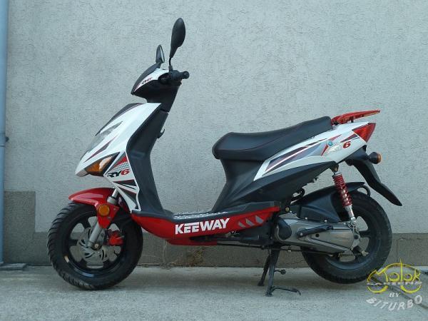 Keeway Ry6 50 robogó használt 1
