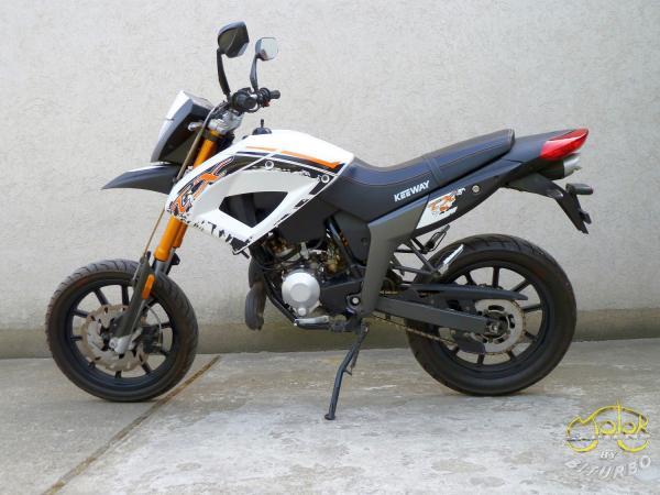 Keeway TX 50 supermoto 3