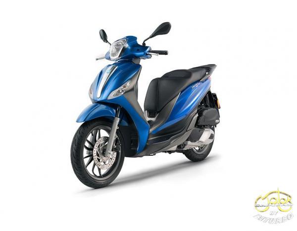 Piaggio Medley 125 robogó kék 1