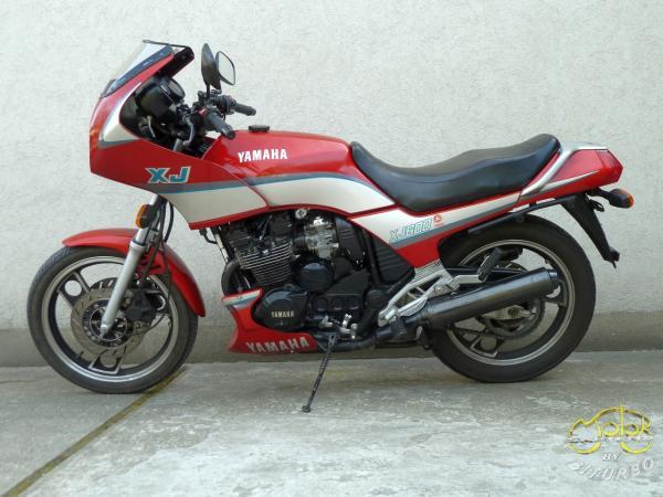 Yamaha XJ 600 túra sport motor 6